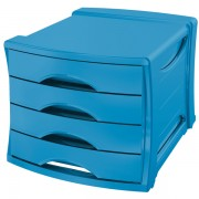 Zásuvkový box Esselte Europost VIVIDA VIVIDA Modrá