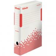 Rychle-složitelná archivační krabice Esselte Speedbox 80 mm Bílá