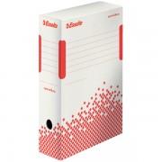 Rychle-složitelná archivační krabice Esselte Speedbox 100 mm Bílá