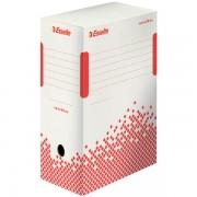 Rychle-složitelná archivační krabice Esselte Speedbox 150 mm Bílá