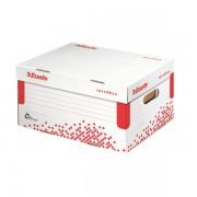 Rychle-složitelný archivační kontejner s víkem Esselte Speedbox A4 Bílá