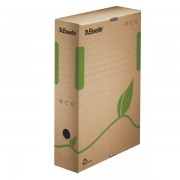 Archivační krabice Esselte Eco 80 mm Přírodní hnědá