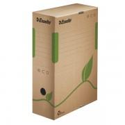 Archivační krabice Esselte Eco 100 mm Přírodní hnědá