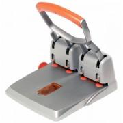 Velkokapacitní čtyřděrovačka Rapid Supreme HDC150/4 150 listů Stříbrná/Oranžová