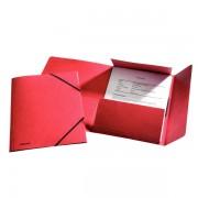 Prešpánové desky na spisy Esselte Rainbow Červená A4
