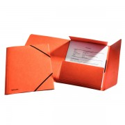 Prešpánové desky na spisy Esselte Rainbow Oranžová A4