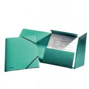 Prešpánové desky na spisy Esselte Rainbow Zelená A4
