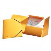 Prešpánové desky na spisy Esselte Rainbow Žlutá A4