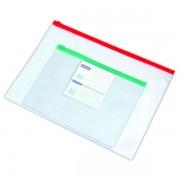 Desky Zip Bag A4 transparentní