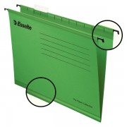 Zesílené závěsné desky Esselte Pendaflex® Zelená