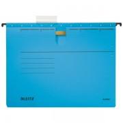 Závěsné desky Leitz ALPHA® s rychlovazačem Modrá