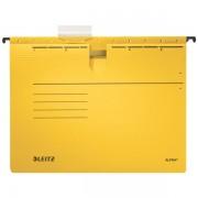 Závěsné desky Leitz ALPHA® s rychlovazačem Žlutá