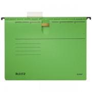 Závěsné desky Leitz ALPHA® s rychlovazačem Zelená