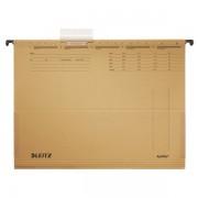 Závěsné desky Leitz ALPHA® s bočnicemi Přírodní hnědá