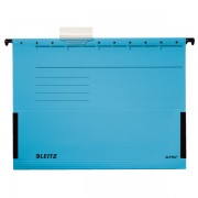 Závěsné desky Leitz ALPHA® s bočnicemi Modrá