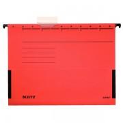 Závěsné desky Leitz ALPHA® s bočnicemi Červená