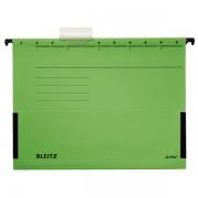 Závěsné desky Leitz ALPHA® s bočnicemi Zelená
