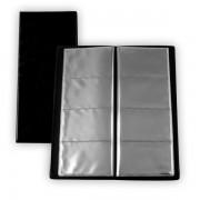 Vizitkář lepený Plastik 80 vizitek DL černý