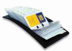 Vizitkář Rotacard LV-225 stolní 450 vizitek černý